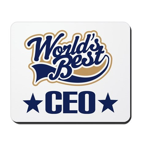 CEO Gift (Worlds Best) Mousepad