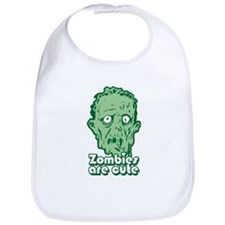 Zombies Are Cute Baby Bib