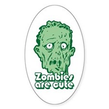 Zombies Are Cute Decal