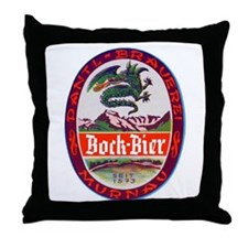 Germany Beer Label 3 Throw Pillow