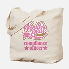 Compliance Officer Gift (Worlds Best) Tote Bag