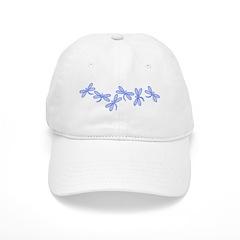 Blue Dragonflies Baseball Cap