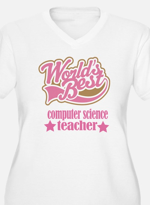 Computer Science Teacher Gift (Worlds Best) Women'