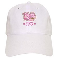 CFO Gift (Worlds Best) Baseball Cap
