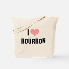 I heart Bourbon Tote Bag