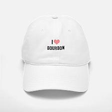 I heart Bourbon Baseball Baseball Cap
