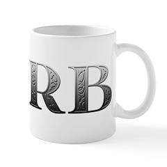 Barb Carved Metal Mug