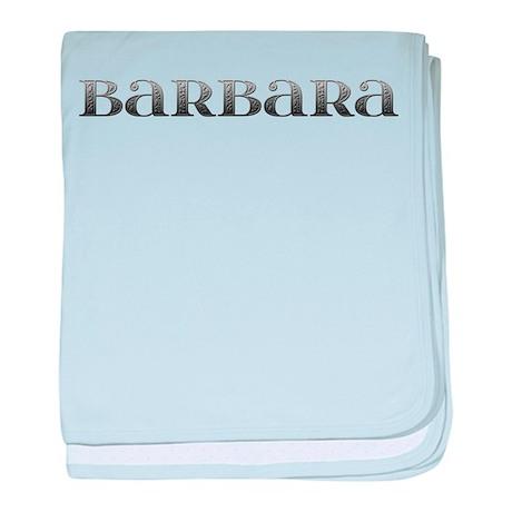 Barbara Carved Metal baby blanket