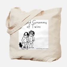 Proud Grammy of Boy-Girl Twin Tote Bag