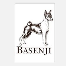 Basenji Breed Type Postcards (Package of 8)