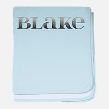 Blake Carved Metal baby blanket