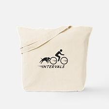 Big Dog Intervals Tote Bag