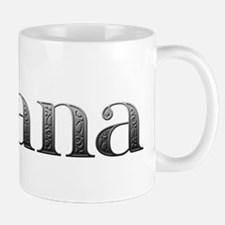 Briana Carved Metal Small Small Mug