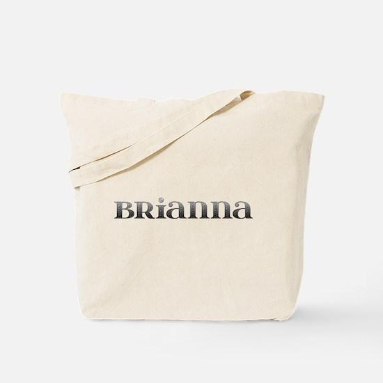 Brianna Carved Metal Tote Bag