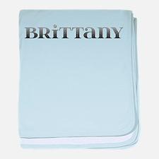 Brittany Carved Metal baby blanket