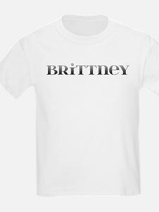 Brittney Carved Metal T-Shirt