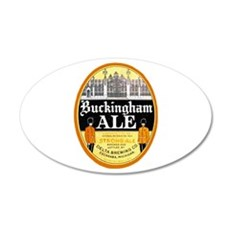 Michigan Beer Label 4 22x14 Oval Wall Peel