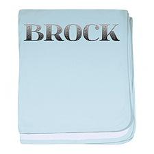 Brock Carved Metal baby blanket