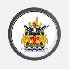 Windsor Coat of Arms Wall Clock