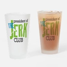The Jerk Club Drinking Glass