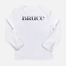 Bruce Carved Metal Long Sleeve Infant T-Shirt