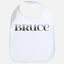 Bruce Carved Metal Bib