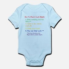 How To Find A Lost Hippie Infant Bodysuit