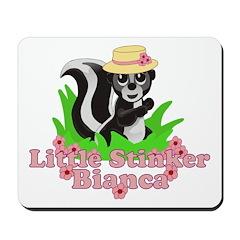Little Stinker Bianca Mousepad