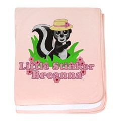 Little Stinker Breanna baby blanket