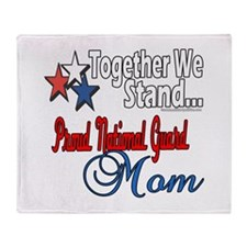 National Guard Mom Throw Blanket