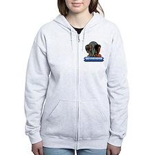 Funny Ufos Zip Hoodie