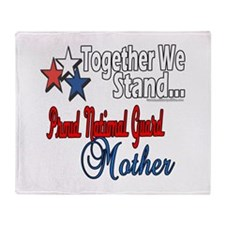 National Guard Mother Throw Blanket