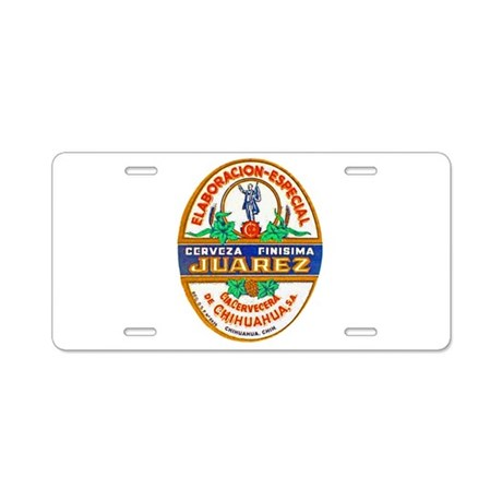 Mexico Beer Label 2 Aluminum License Plate