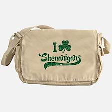 I Shamrock Shenanigans Messenger Bag