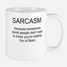 sarcasm Small Mugs