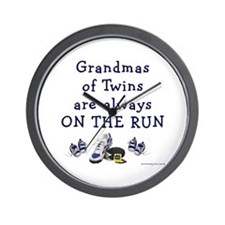 Grandmas on the Run Wall Clock