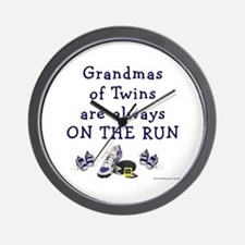 Grandmas on the Run Wall Clock