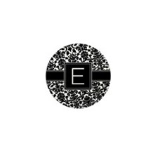 Monogram Letter E Gifts Mini Button