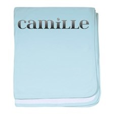 Camille Carved Metal baby blanket