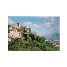 Roccacaramanico Italy Rectangle Magnet