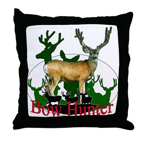 Bow Hunter 3 Throw Pillow