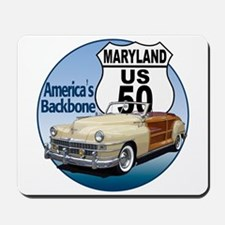 The Maryland US Route 50 Mousepad