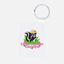 Little Stinker Carolyn Aluminum Photo Keychain