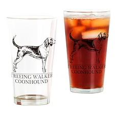 Treeing Walker Coonhound Drinking Glass
