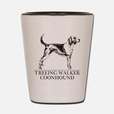 Treeing Walker Coonhound Shot Glass