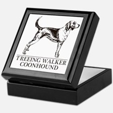 Treeing Walker Coonhound Keepsake Box