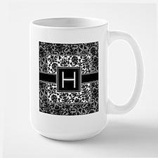 Monogram Letter H Gifts Mug