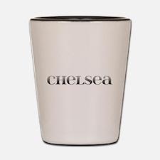 Chelsea Carved Metal Shot Glass