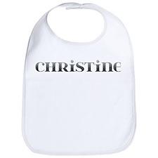 Christine Carved Metal Bib