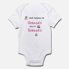 Customizable what happens at grandma's Infant Body